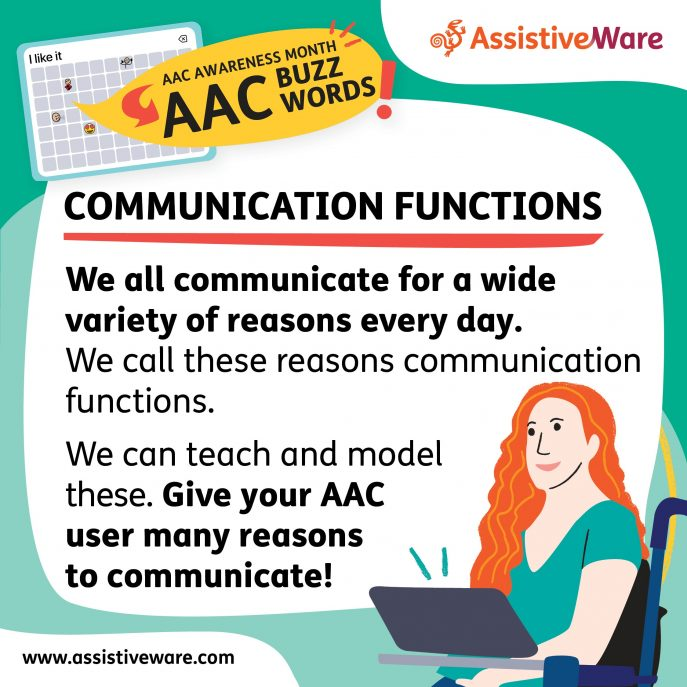 Communication functions