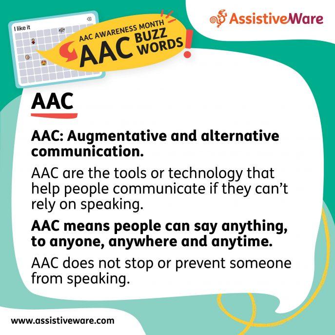 AAC buzzword