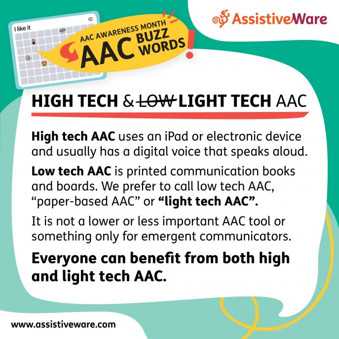 High and light tech AAC