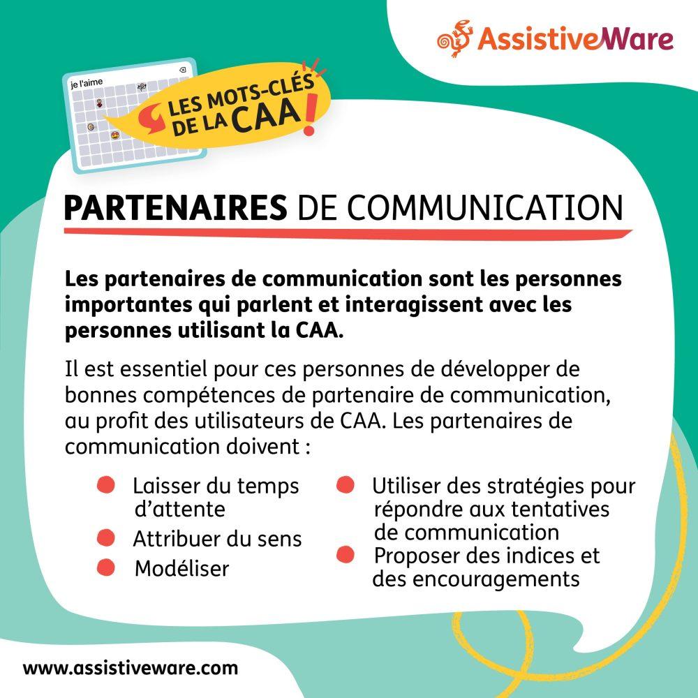 Les partenaires de communication