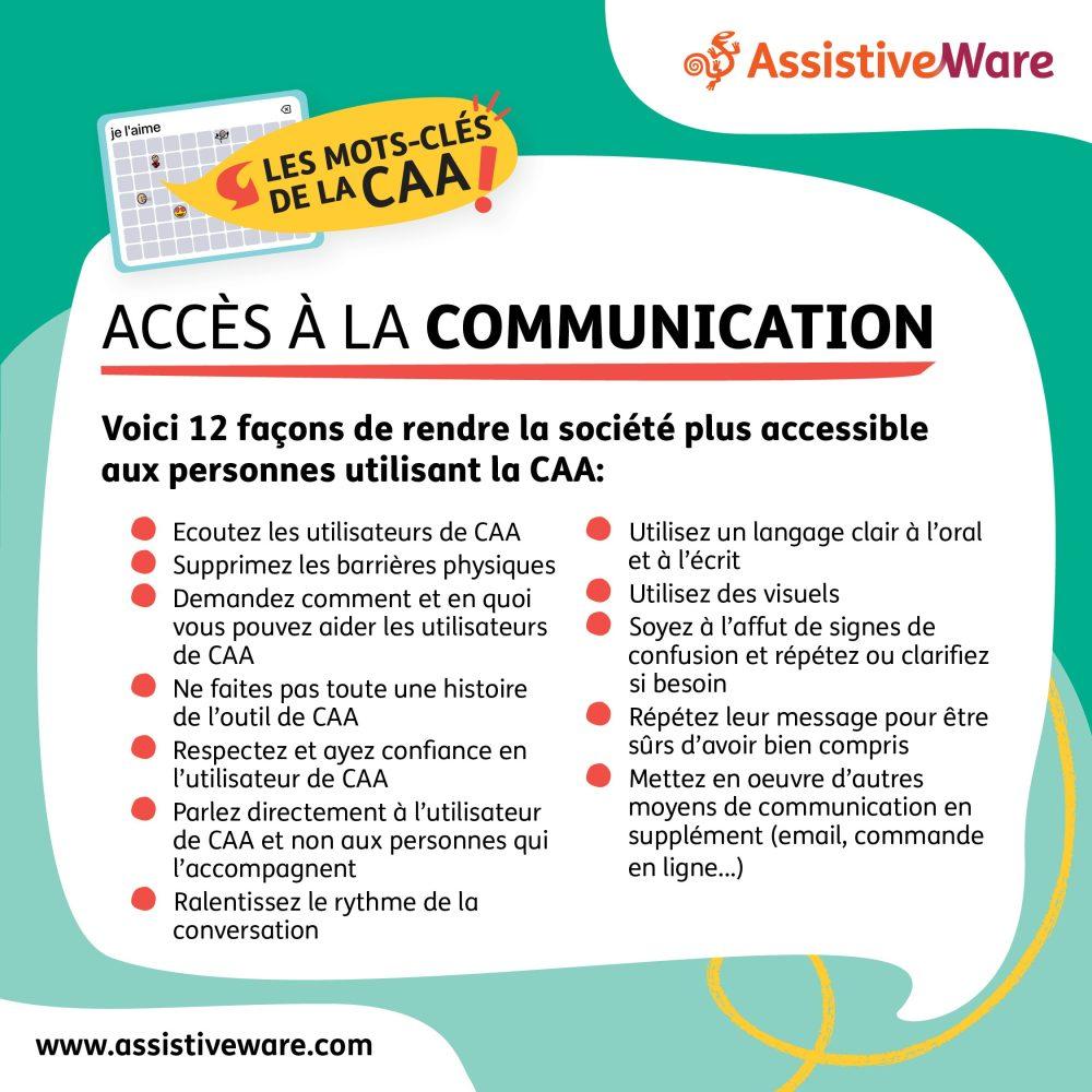 Accès à la communication