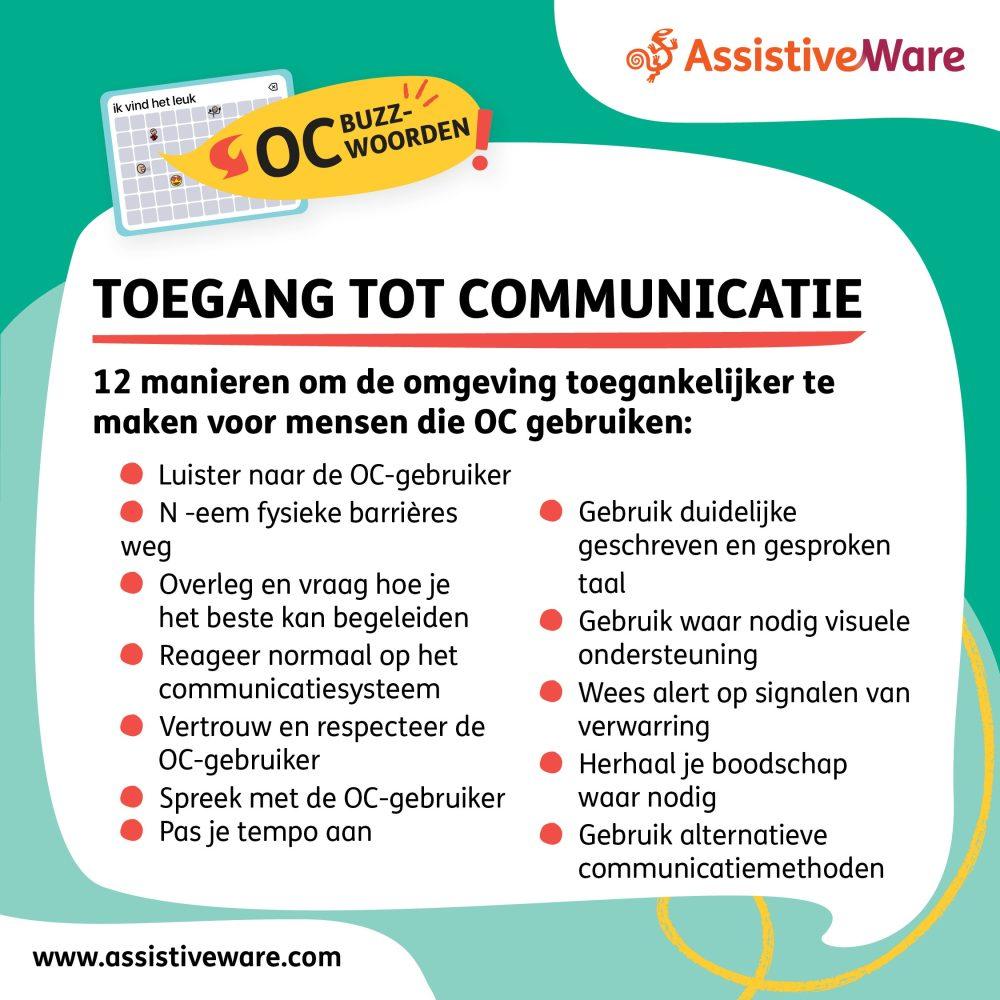 Toegankelijke communicatie