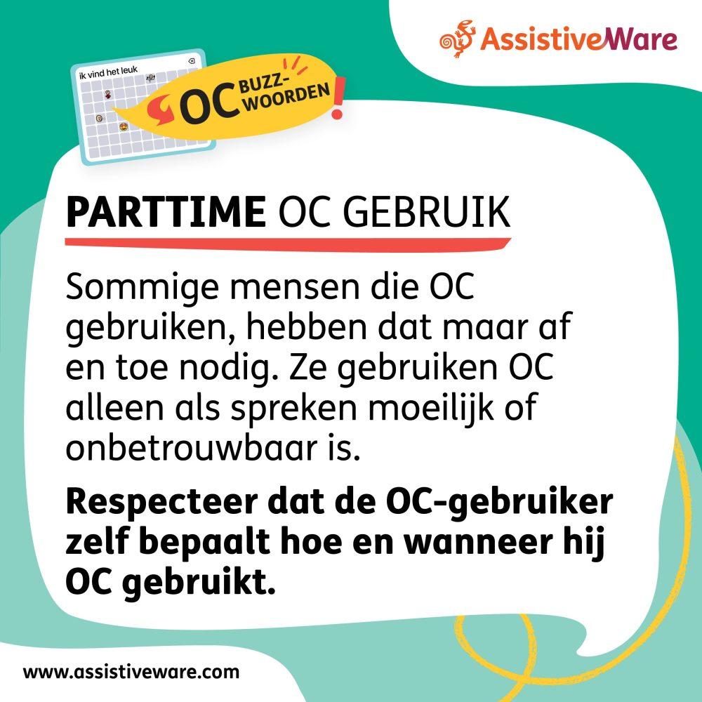 Parttime OC-gebruik