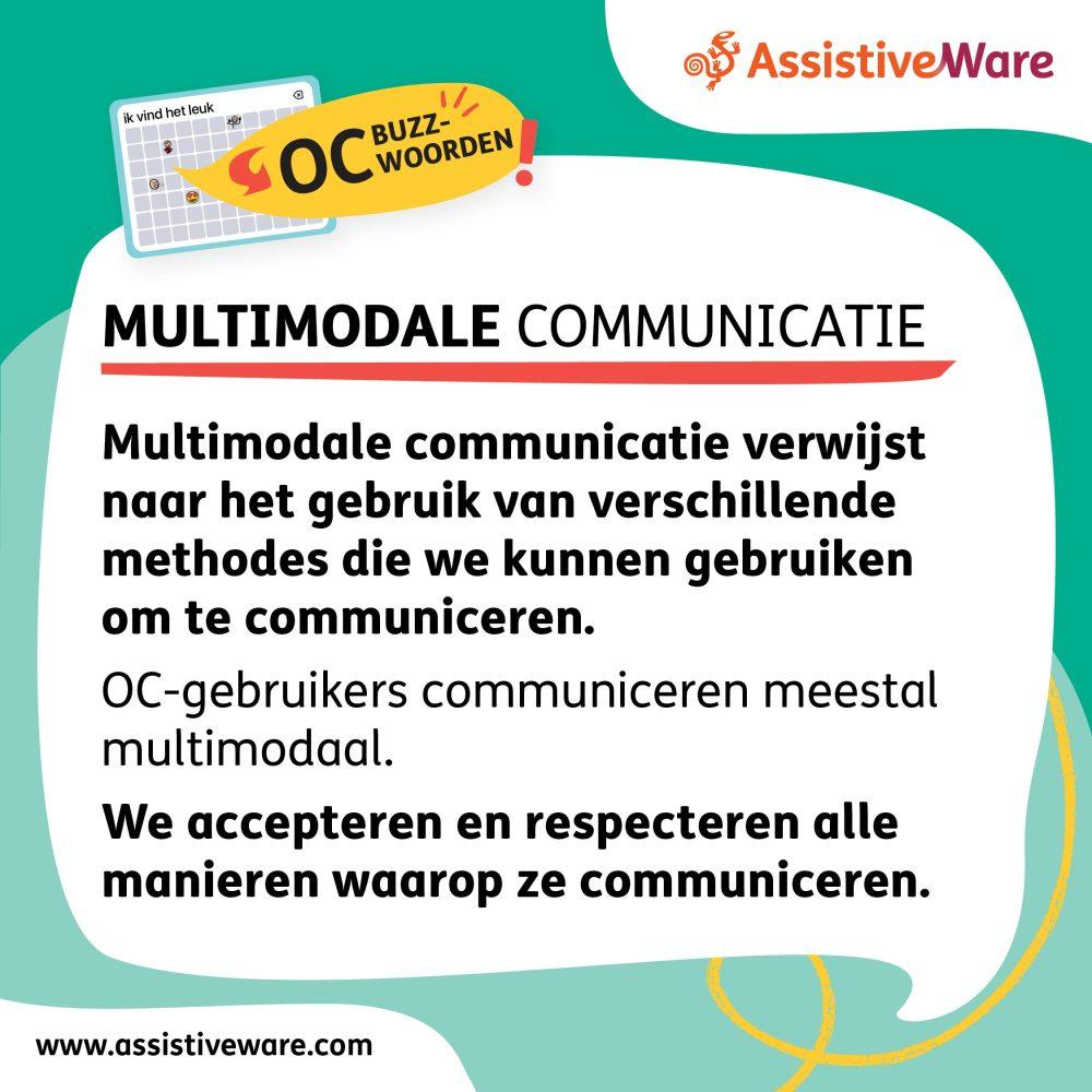 Multimodale communicatie