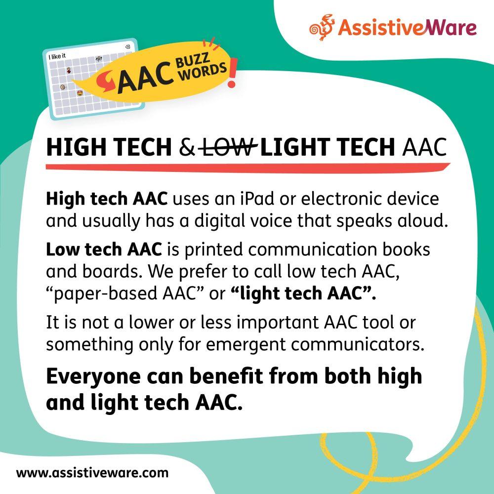 High tech and light tech