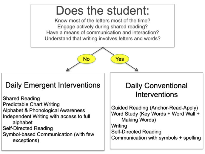 Literacy emergent conventional rubric