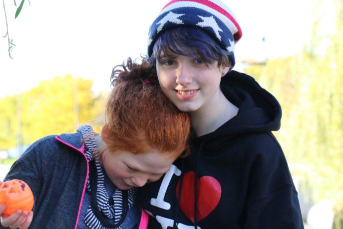 Maggie and her best friend Jordyn