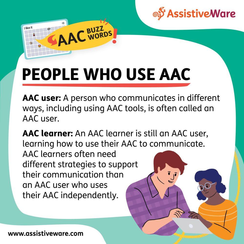 People who use AAC