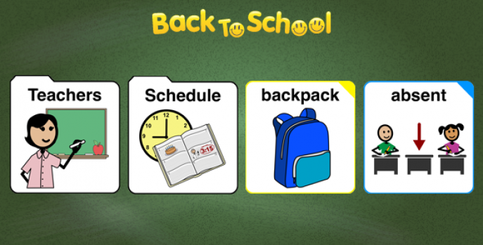 Back to School pictogrammes