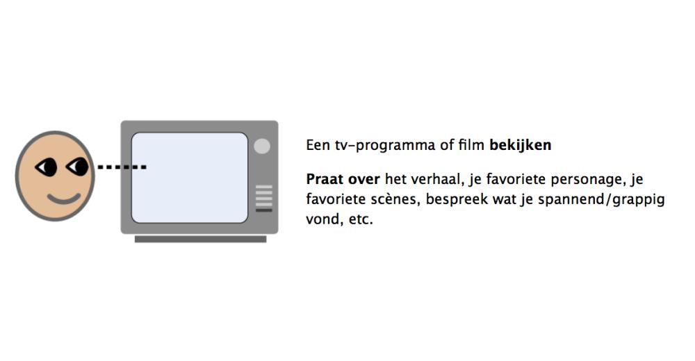 Een tv-programma of film bekijken