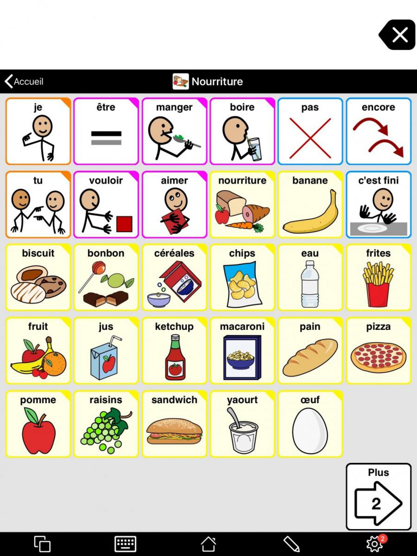 Vocabulary pictures