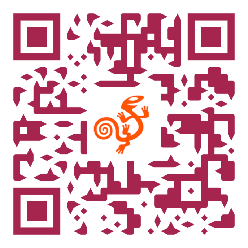 Code QR avec lien vers le site d'AssistiveWare