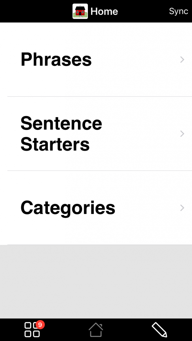 Apple Watch Vocabulary Home Folder