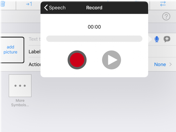 "Screenshot ""Record audio"" feature in Edit mode"