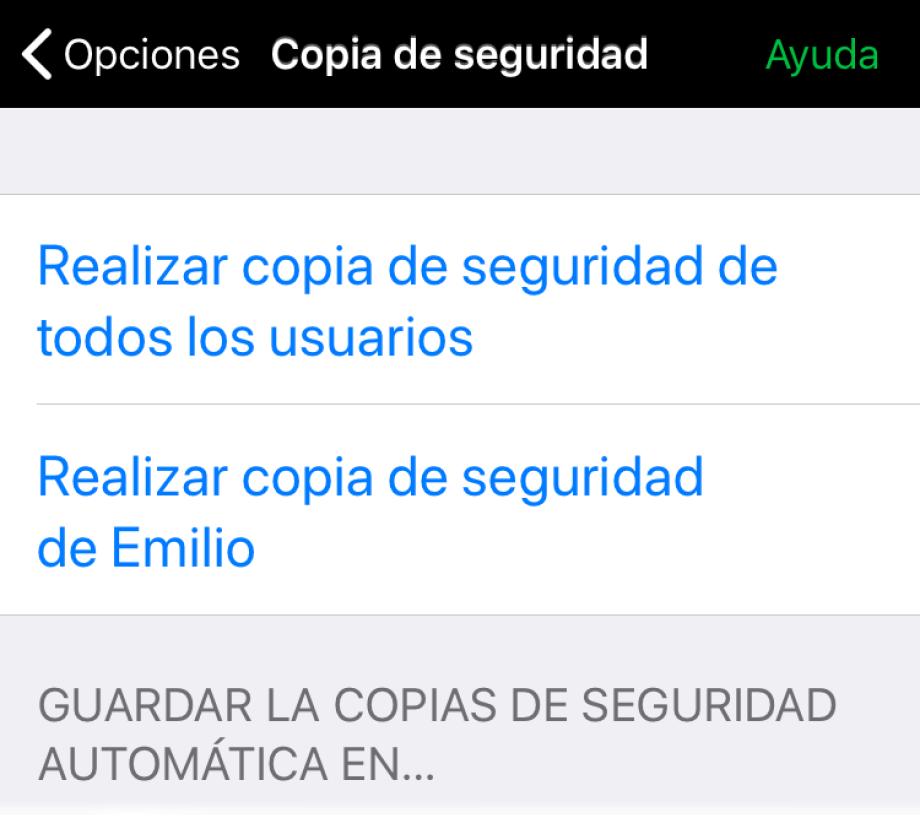 Opciones automáticas de copias de seguridad para Dropbox y Google Drive