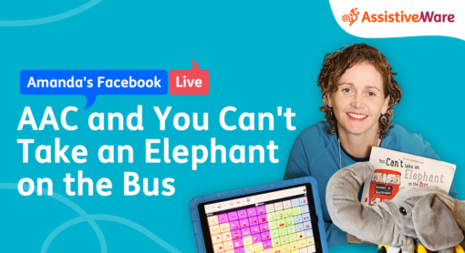 Amanda reads You Cant take an elephant on the bus