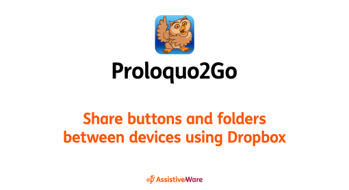Share buttons and folders between devices using Dropbox video