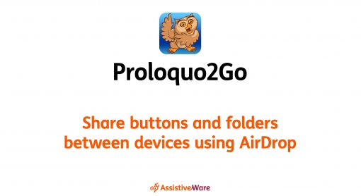 Preview Share buttons and folders between devices using AirDrop video