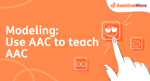 Modeling use AAC to teach AAC