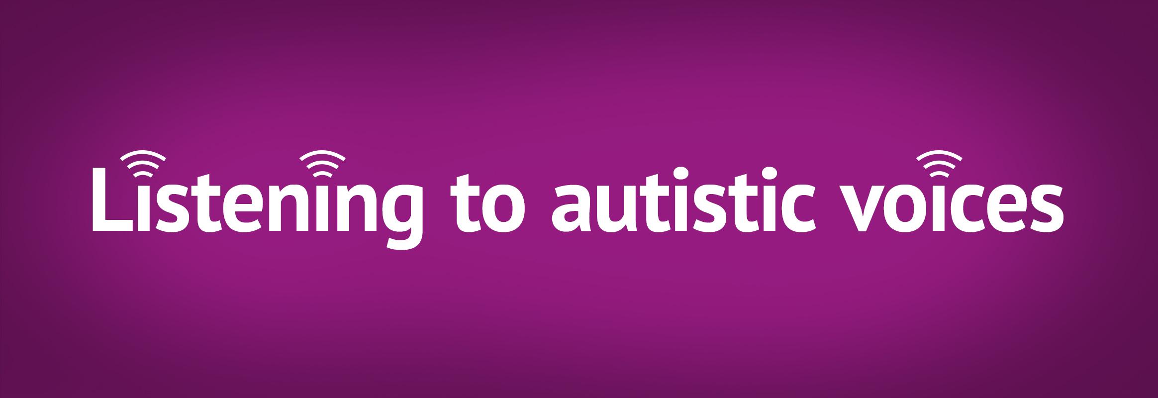 Autism Acceptance Month Listening To Autistic Voices