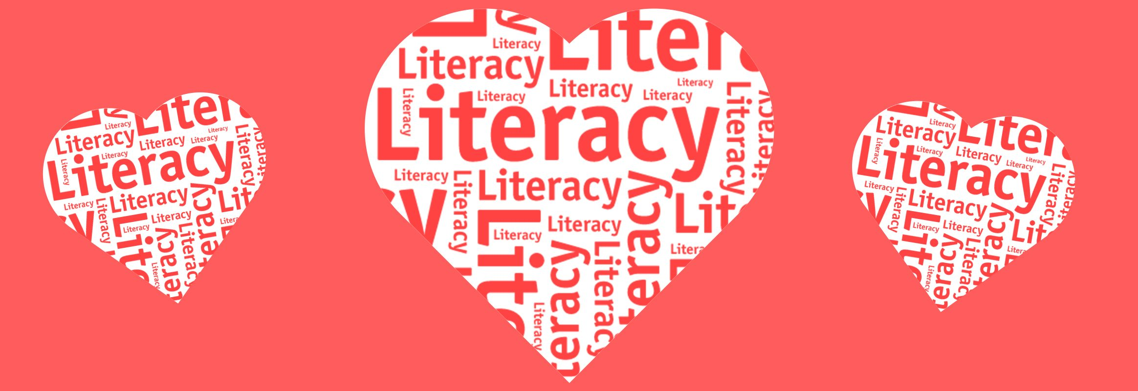 Loving literacy hearts
