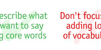 Do's & Don'ts Core Words