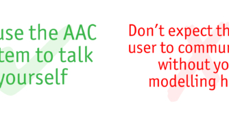 Do's and Don'ts- AAC system
