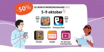 Promo vijf dagen korting, van 5 tot en met 9 oktober
