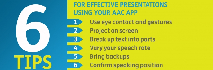 6 tips for effective presentations