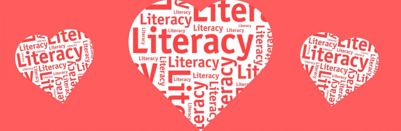 Loving literacy hearts
