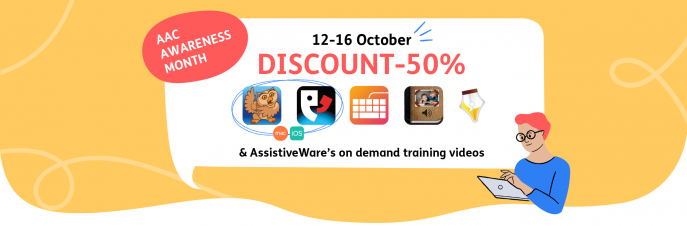 AAC Awareness Month Discount - 50% 12 - 16 October