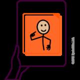 Ikoon pictogrammen gebaseerde OC