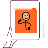 icono basado en pictogramas