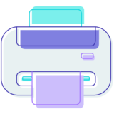 Icon of a printer