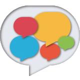 Illustratie van tekstballon