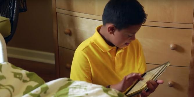 Enrique with iPad